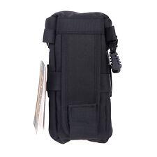 Black Fly Leaf Lens Case Pouch Bag 15 * 8.5cm for DSLR Nikon Canon Lenses FY-3