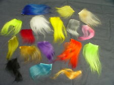 CASHMERE GOAT HAIR VARIETY PAK - 1 OZ MIXED COLORS BAG  FLY TYING CRAFT #CG99
