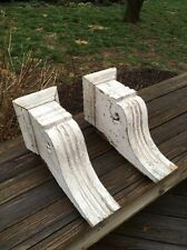 2 Vintage Matching Wood  Victorian Architectural Salvage Corbels