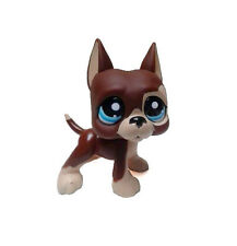 Littlest Pet Shop Animal Chocolate Brown Dog Dane Loose Figure Child Girl Toy UK