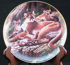 Alpine Antics - The Endangered Kingdom, Collector's Plate Series