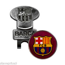 BARCELONA FC HAT CAP CLIP AND GOLF BALL MARKER