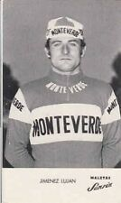 JIMENEZ LUJAN Cyclisme ciclismo MONTEVERDE SANSON 75 La Vuelta vélo ciclista