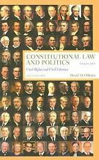 Constitutional Law and Politics, Sixth Edition, Volume 2