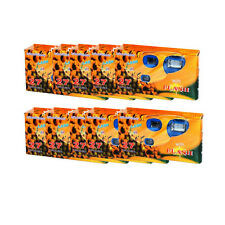 10 Pcs SunFlash Single Use 35mm Film Disposable Camera with Flash, 2019 DATE