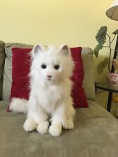 Furreal Cat White, electronic interactive toy. Fur real Lulu