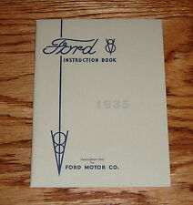 1935 Ford V-8 Instruction Book Owners Operators Manual 35