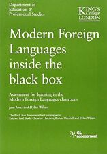 Modern Foreign Languages Inside the Black Box - 0708717659