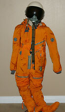 AUTHENTIC RUSSIAN MIG FLIGHT PILOT PRESSURE SUIT & HELMET