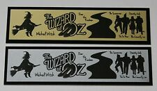 """The Wizard of Oz """"Over the Rainbow"""" Nameplate for signed movie poster photo"""