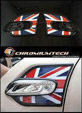 2014 + F55 F56 MK3 Mini Cooper / S / une Union Jack côté tour signal hublots trim