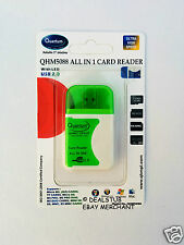 Quantum All in 1 Multi Memory Card Reader USB 2.0 With LED QHM 5088