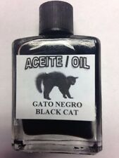 MYSTICAL / SPIRITUAL OIL (ACEITE) FOR SPELLS & ANOINTING 1/2 OZ BLACK CAT
