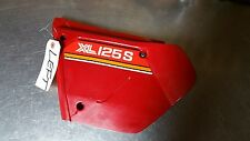 1980 HONDA XL125 XL 125 LEFT SIDE COVER GREAT SHAPE XL125S OEM