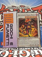 ARCIDEMONE DRAGO ROSSO in italiano originale YUGIOH synchro!