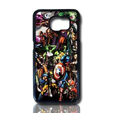 funda carcasa para samsung galaxy s7 edge stickers heroes tv case cover