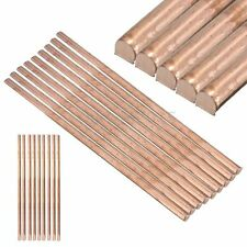 1x 99.9% Pure Copper Cu Metal Rod Tube Cylinder Diameter 6mm Length 200mm