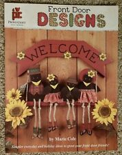 FRONT DOOR DESIGNS By Marie Cole Decorative Tole Painting Book 1995 EXCELLENT!!!