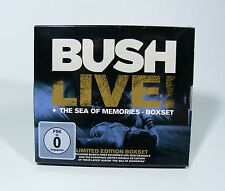BUSH The Sea of Memories 2 CD Album + Live! DVD NEU 3 Disc Box Gavin Rossdale
