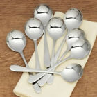 RSVP MONTY'S STAINLESS STEEL SOUP SPOON SETS - 2, 4 OR 8 SPOONS - MADE IN ITALY