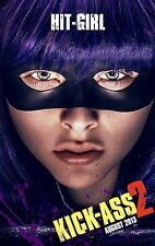 POSTER KICK ASS 2 CHLOE GRACE MORETZ HIT GIRL STARS AND STRIPES MOTHERFUCKER #11