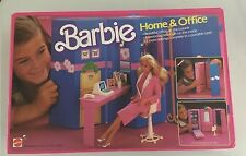 Barbie 1984  HOME & OFFICE ref.7897 V.G.C.