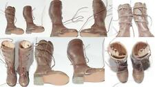 DID DONALD US ARMY WW 2 TANKER BOOTS LEATHER TOY FOR 12 IN FIG MINT
