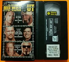 WWE/WWE - No Way Out 2003 VHS WCW/nWo ECW DX