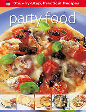 """Step-by-Step Practical Recipes: Party Food  """"AS NEW"""" Book"""
