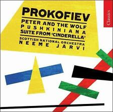 Prokofiev: Peter and the Wolf; Pushkiniana; Cinderella Suite (CD, Jul-2008,...