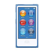Apple iPod nano 7th Generation Blue (16GB) (Latest Model) All Accessories Includ