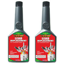 2 x LEAD REPLACEMENT SUBSTITUTE ADDITIVE - FOR UNLEADED FUEL PETROL 325ml -SGA16