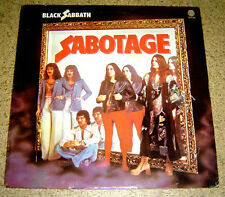 PHILIPPINES:BLACK SABBATH - Sabotage LP rare,Vertigo Label,Ozzy Osbourne,VHTF