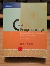 C++ Programming Program Design Including Data Structures by DS Malik