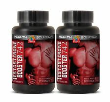 Extreme Fat Burner - Testosterone-boosting Formula 742 (2 Bottles)