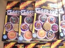 POGS SLAMMER WHAMMERS FLASH CAPS SERIES 1 CANADIAN?(8) UNOPENED PACKS