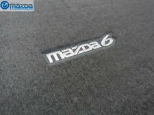 MAZDA 6 HATCHBACK 2004-2008 NEW OEM GRAY CARPETED CARGO MAT 0000-8B-H31 -A5