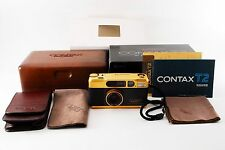 *Near Mint!!* Contax T2 GOLD 60 Years Limited Edition from Japan/170522