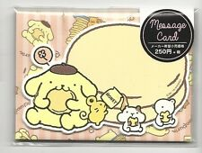 Sanrio Pom Pom Purin Notecards With Envelopes Stickers Message Cards Heart