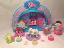 Littlest Pet Shop LPS Fashion Lot Dogs Stage Boutique Food Purses Hats Treats