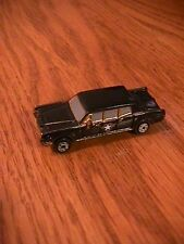 VINTAGE MICRO MACHINES BLACK LINCOLN 4 DOOR LIMO WITH STAR GALOOB 1989