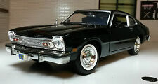 Ford Maverick 1974 Black Coupe 1:24 Scale Diecast Detailed Model Car 73326
