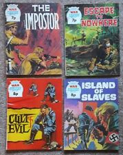 War Picture Library: 4 x 1974 issues. 966, 972, 997, 1017. Good to very good.