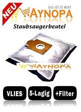 10 Staubsaugerbeutel für QUIGG Sento Pro,1.100 Watt,Vlies Beutel