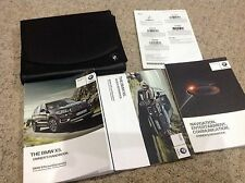 BMW X5   OWNERS GUIDE - OWNERS HANDBOOK - .OWNERS MANUAL 2013-2015 INC SAT NAV