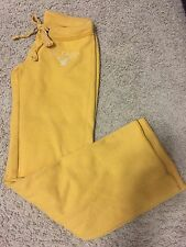 Women's Ladies AMERICAN EAGLE AEO Athletic Sweat Pants Yellow Extra Small XS