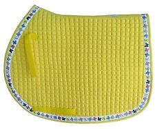 PRI AP Pad with Ribbon Deco Butterfly White Ribbon on Lemon Pad