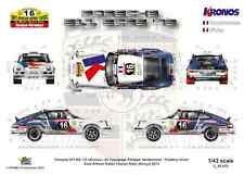 [FFSMC Productions] Decals 1/43 Porsche 911 Kronos # 16 East African Safari 2013