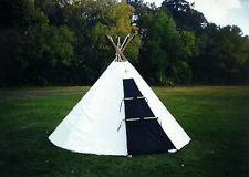 Sami Lavvu - 12ft/3.6m Cotton Duck - Sami Traditional Tent (tipi/tepee/yurt/ger)