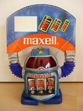 Maxell robot robot pop blinkaugen werbeaufsteller advertising display Vintage